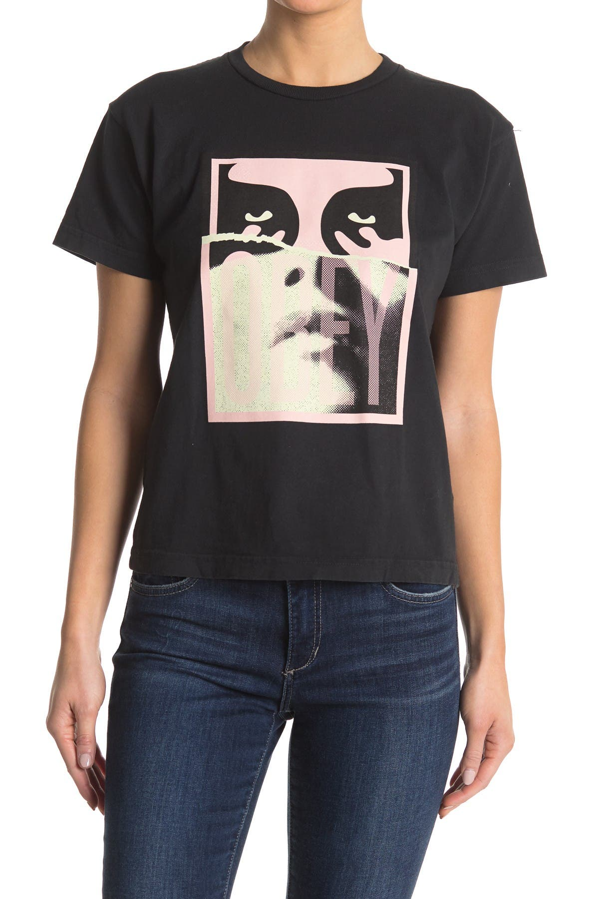 Image of Obey Noir Woman Icon 2 Tee