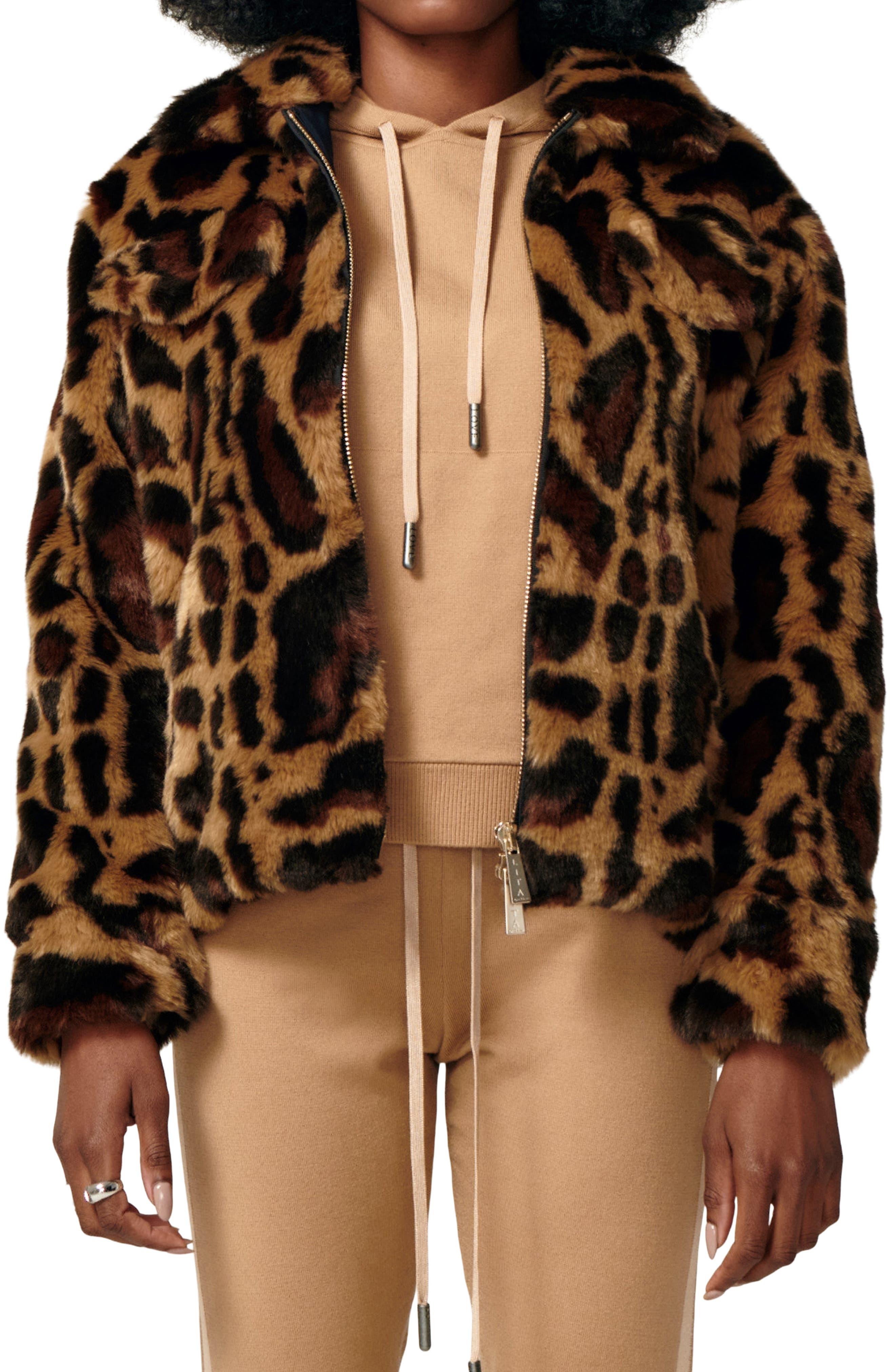 Wildcat Faux Fur Jacket