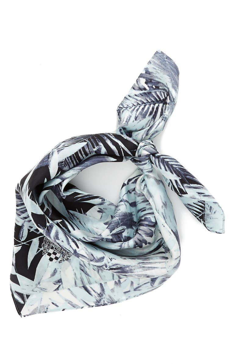 VINCE CAMUTO 'Palm Springs' Silk Square Scarf, Main, color, 063