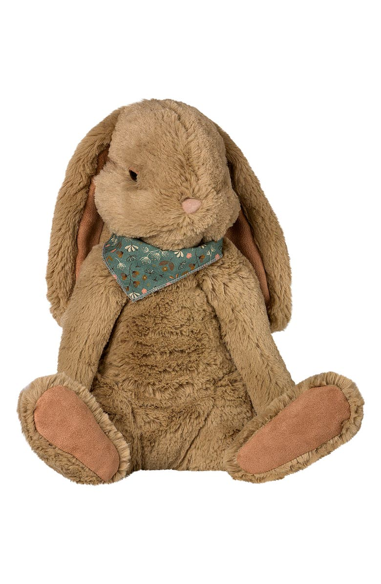 MAILEG Fluffy Buffy Stuffed Animal, Main, color, DUSTY BROWN