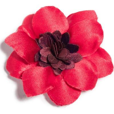 Hook + Albert Henry Satin Lapel Flower