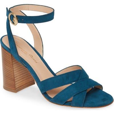 Gianvito Rossi Beya Ankle Strap Sandal - Blue