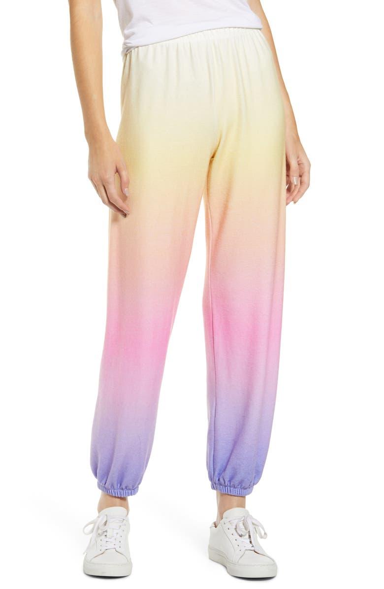 WILDFOX Ocean Sunset Sweatpants, Main, color, 700