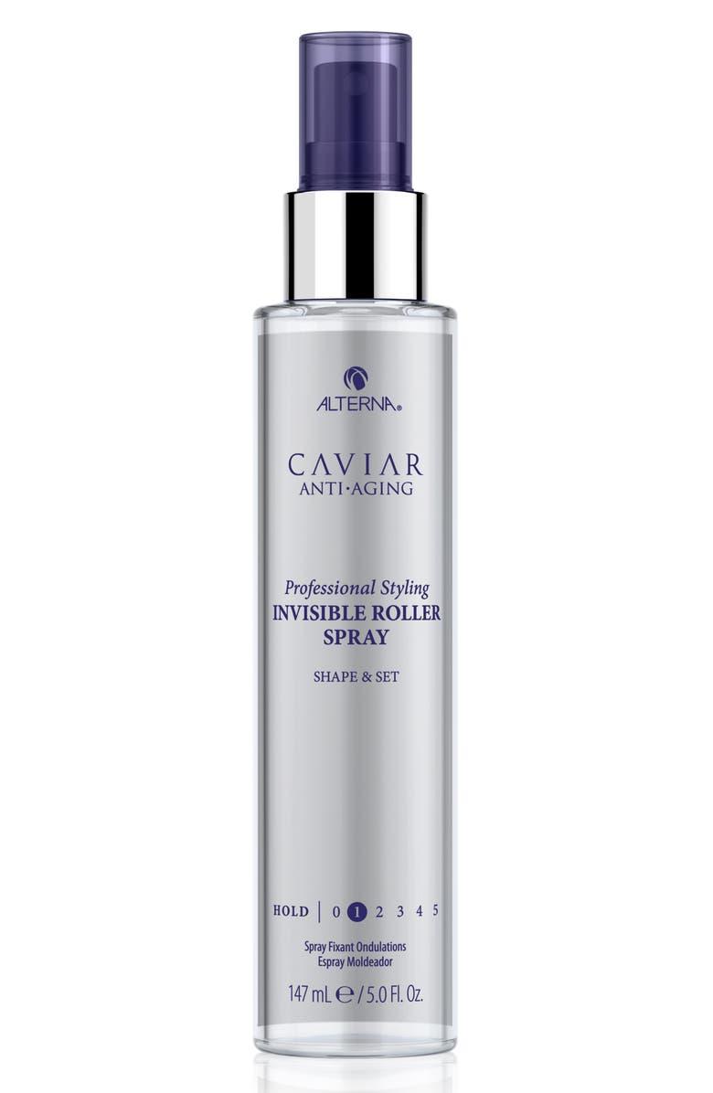 ALTERNA<SUP>®</SUP> Caviar Style Invisible Roller Contour Set Spray, Main, color, NO COLOR