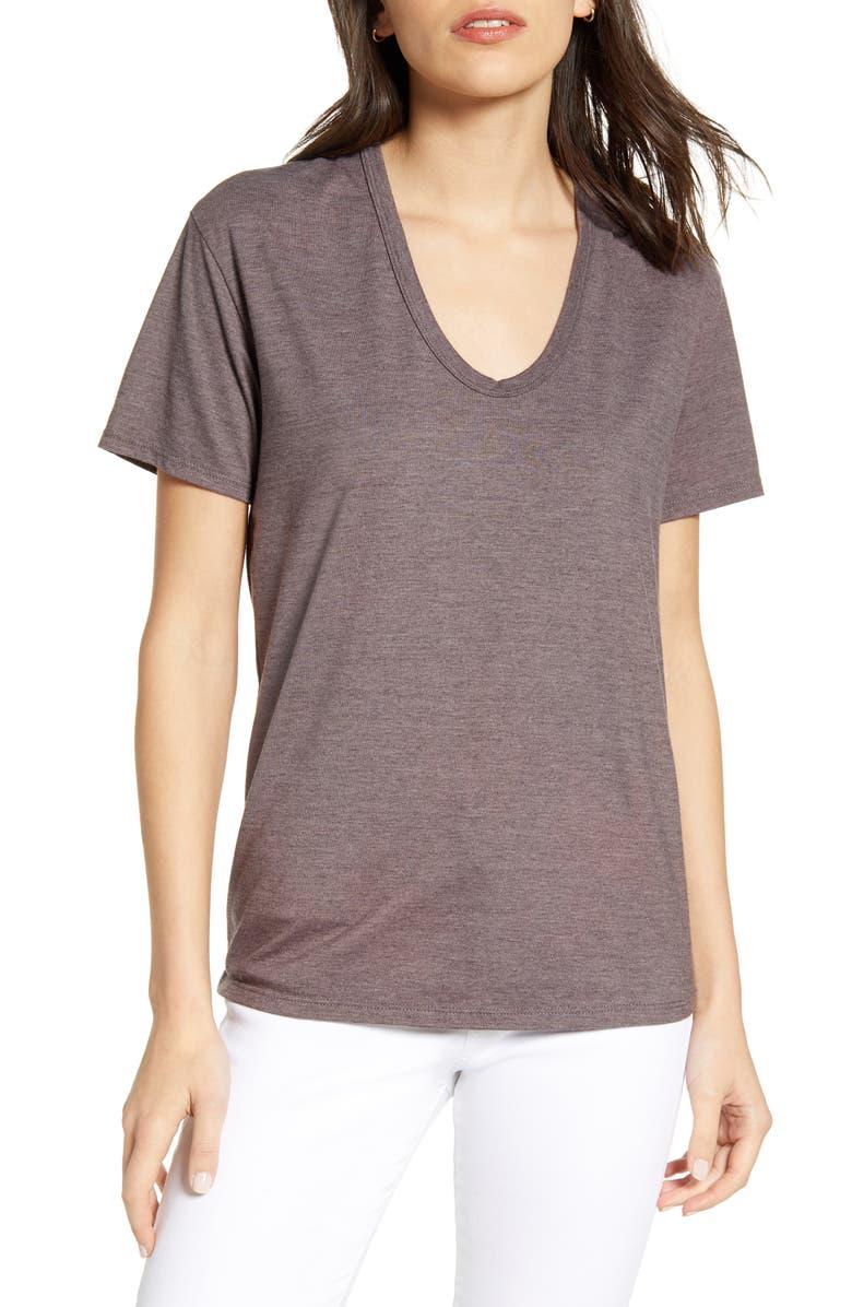 AG Henson T-Shirt, Main, color, ROCKY MAUVE