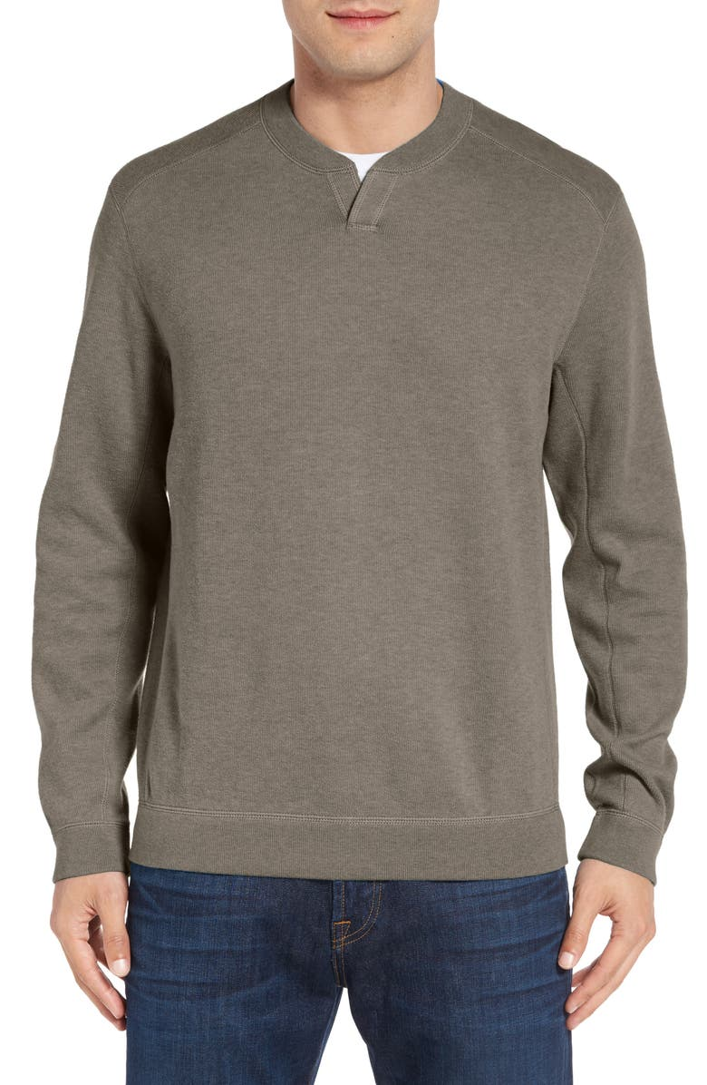 TOMMY BAHAMA 'New Flip Side - Pro Abaco' Reversible Sweater, Main, color, 001
