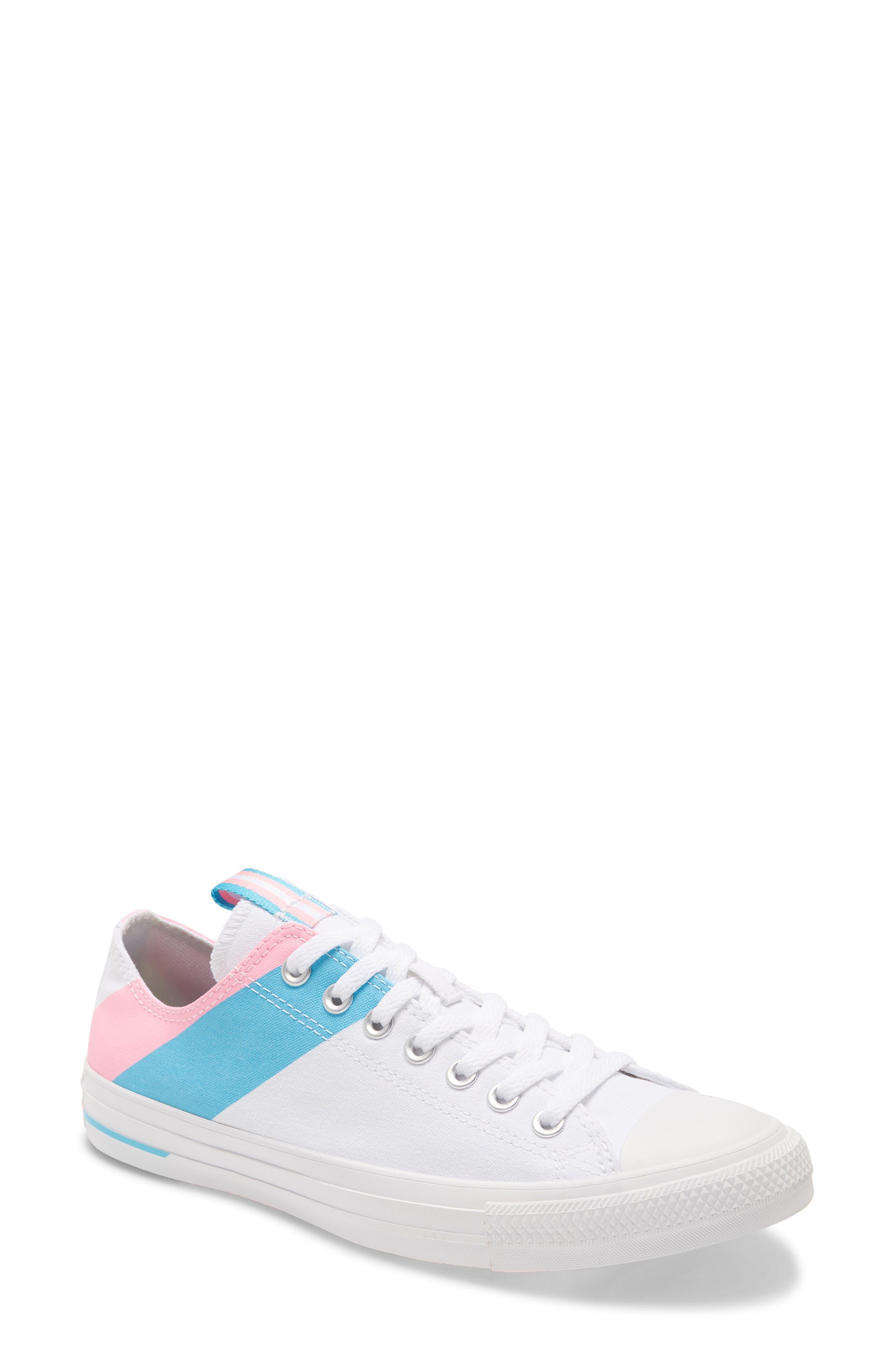 Star Low Top Pride Sneaker, Size 6.5 M