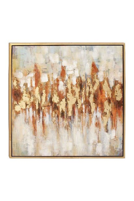 Image of Willow Row Modern Abstract Color Field Canvas Art