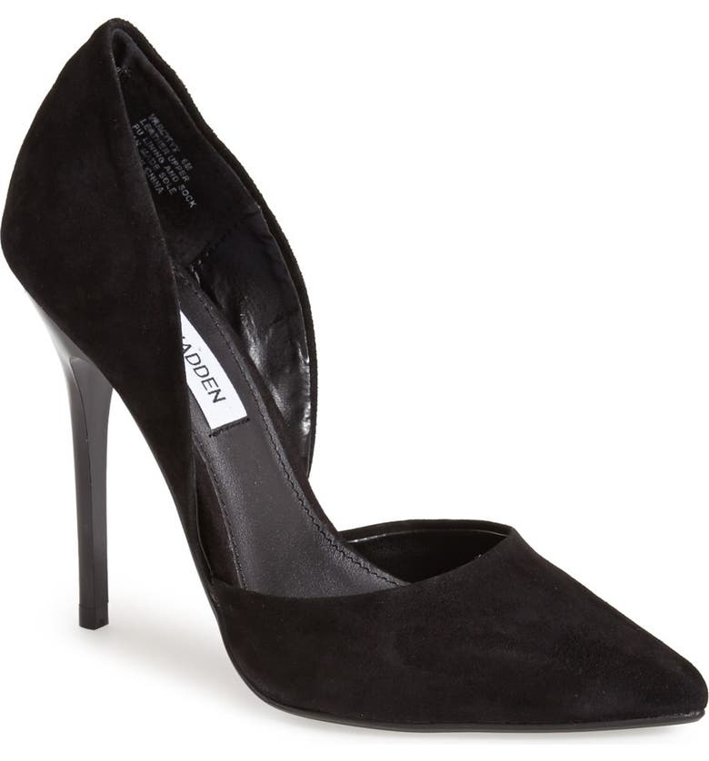 STEVE MADDEN 'Varcityy' Pointy Toe Pump, Main, color, 006