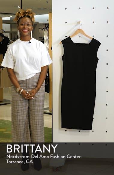Megan Low V-Back Sheath Dress, sales video thumbnail