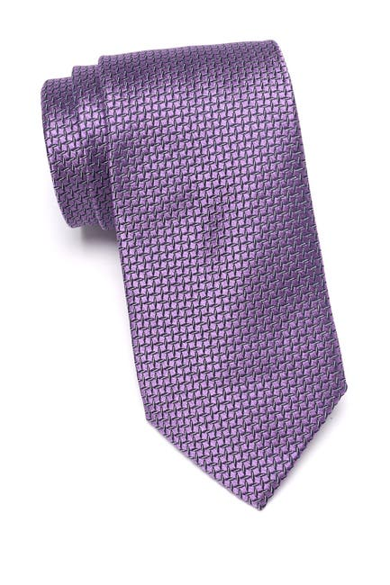 Image of MICHAEL Michael Kors Satin Ground Dash Extra Long Tie