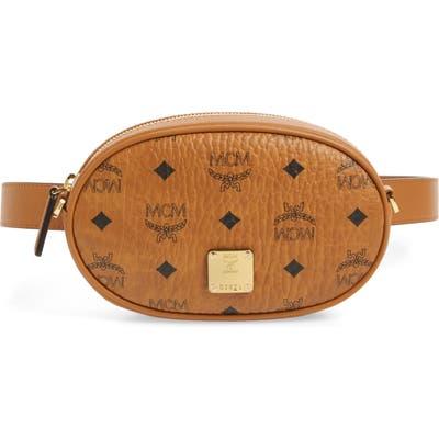 Mcm Essential Convertible Belt Bag - Brown