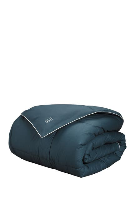 Image of Pillow Guy King/California King Down Alternative All Season Comforter - Navy/White