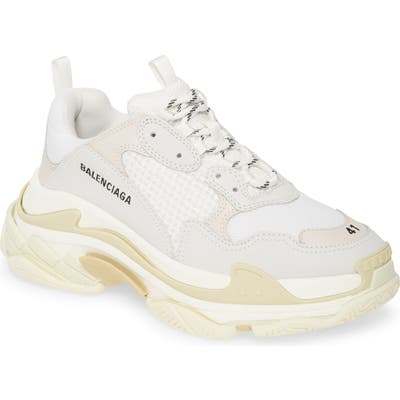Balenciaga Triple S Retro Sneaker, White
