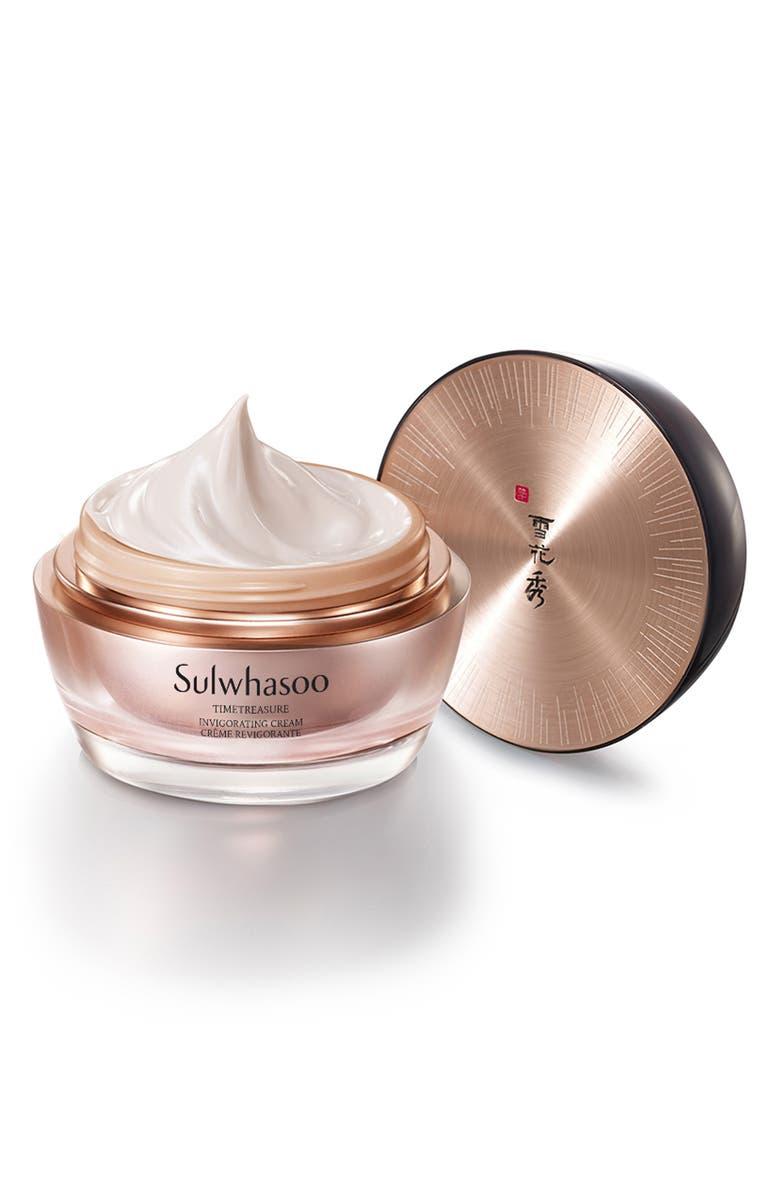 SULWHASOO Timetreasure Invigorating Cream, Main, color, NO COLOR