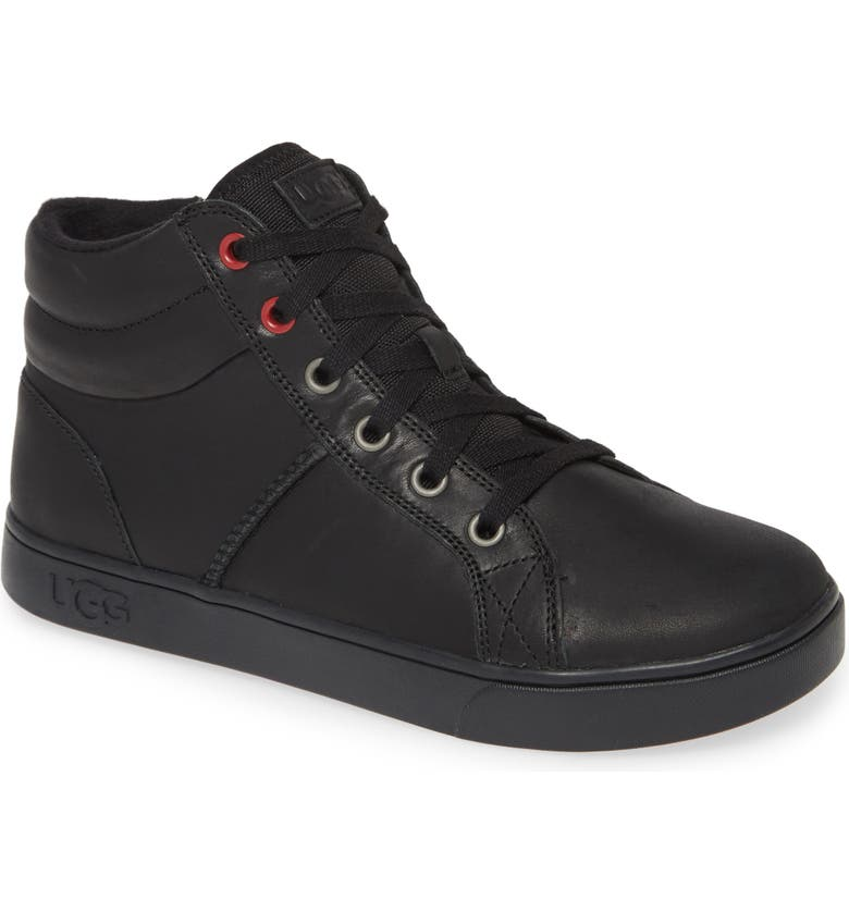 UGG<SUP>®</SUP> Boscoe Sneaker, Main, color, BLACK