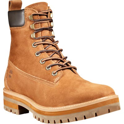 Timberland Courmaguy Waterproof Plain Toe Boot- Brown