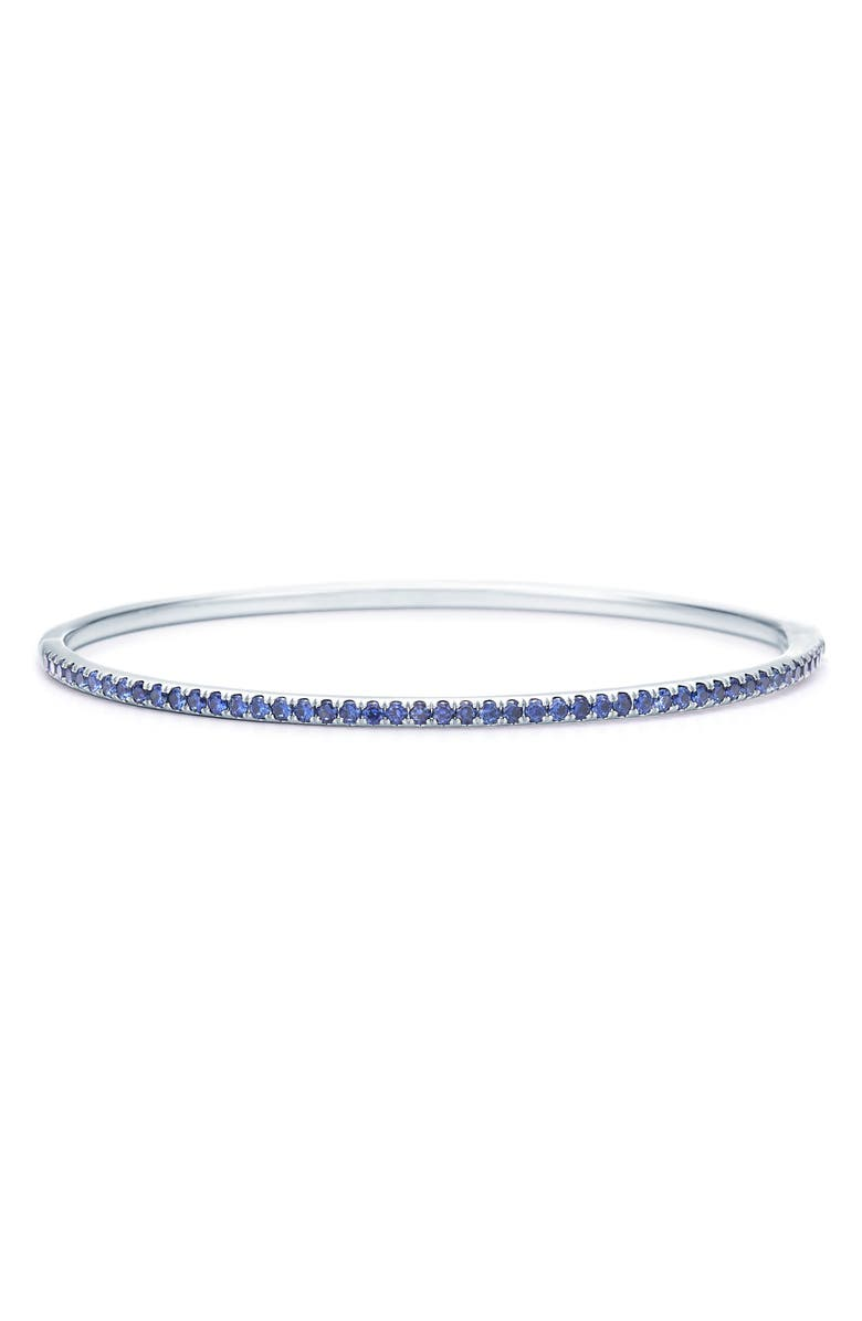 KWIAT Sapphire Stacking Bracelet, Main, color, WHITE GOLD