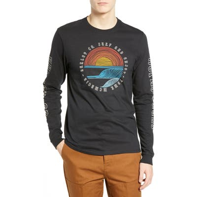 Hurley Core Pennant Graphic T-Shirt, Black