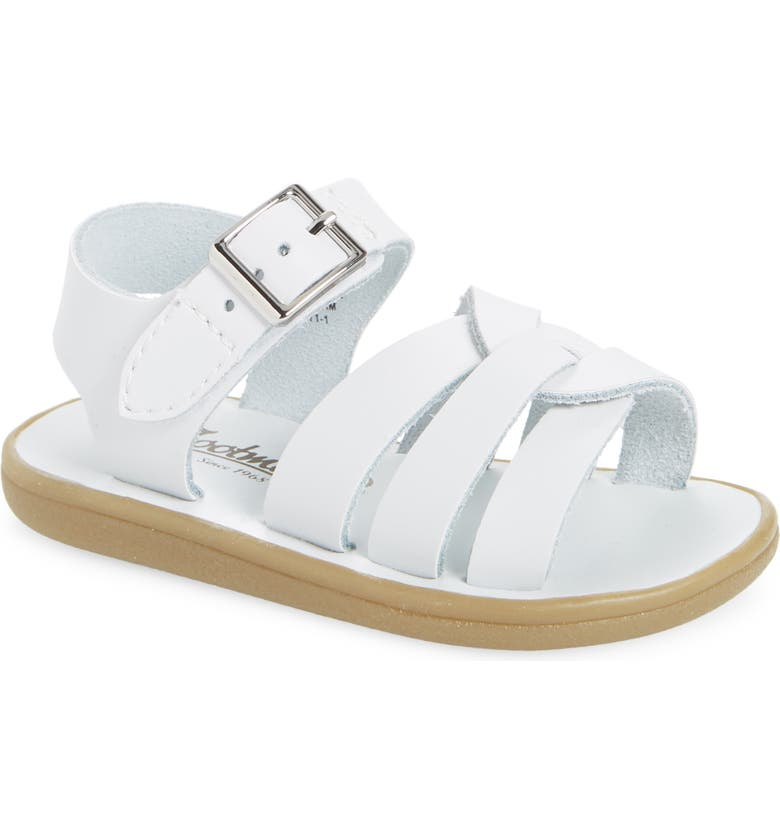 FOOTMATES Wave Waterproof Sandal, Main, color, WHITE
