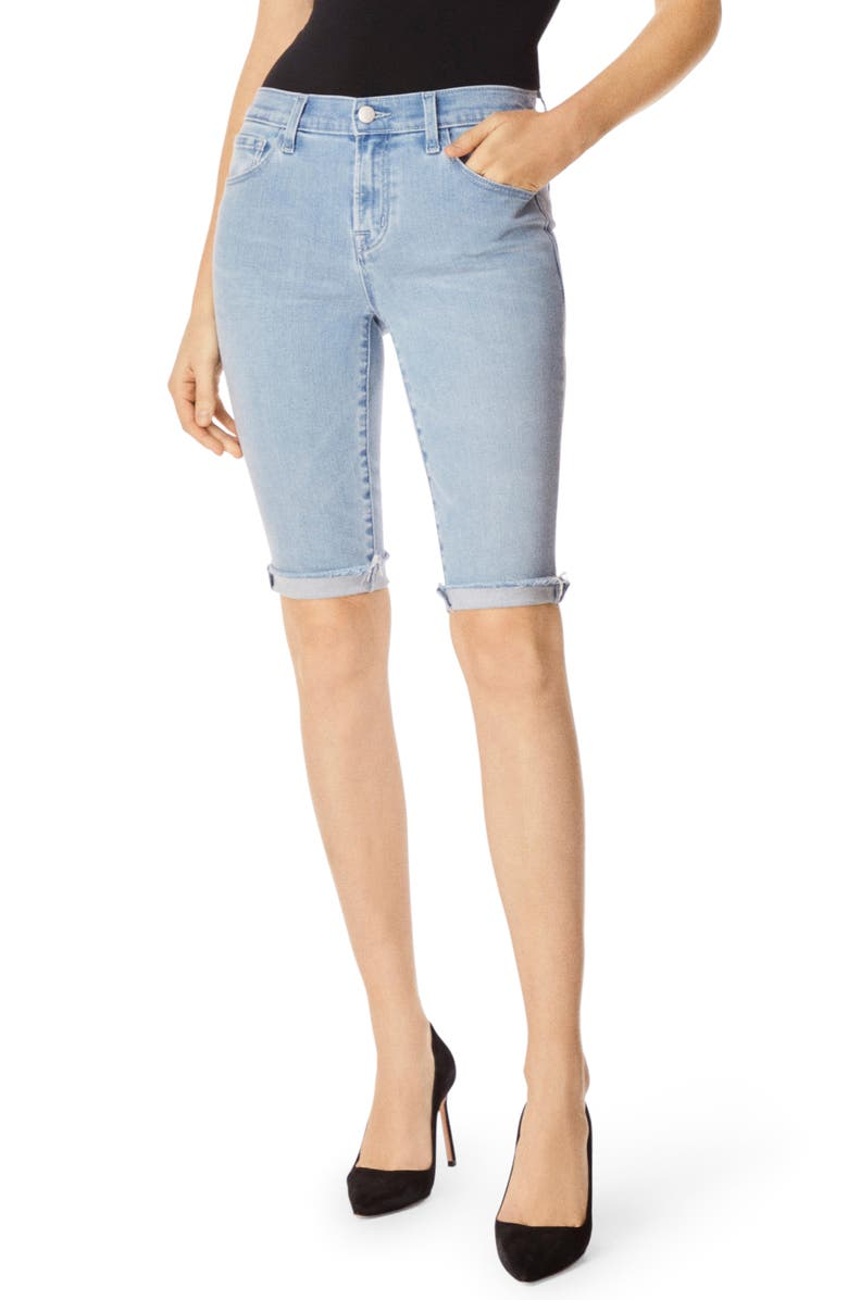 J BRAND 811 Skinny Bermuda Shorts, Main, color, VERITY