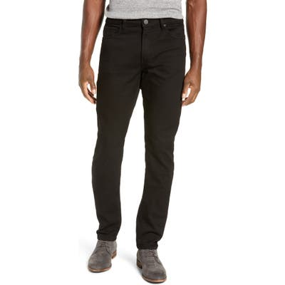 Monfrere Deniro Slim Straight Leg Jeans, Black