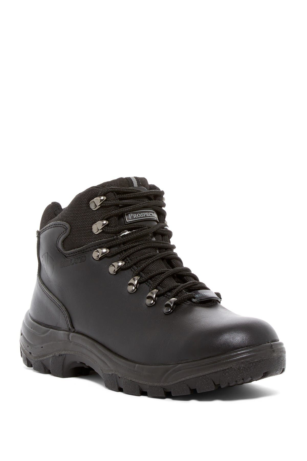 Image of PROSPECTOR Georgian Waterproof Oil Resistant Lace-Up Boot