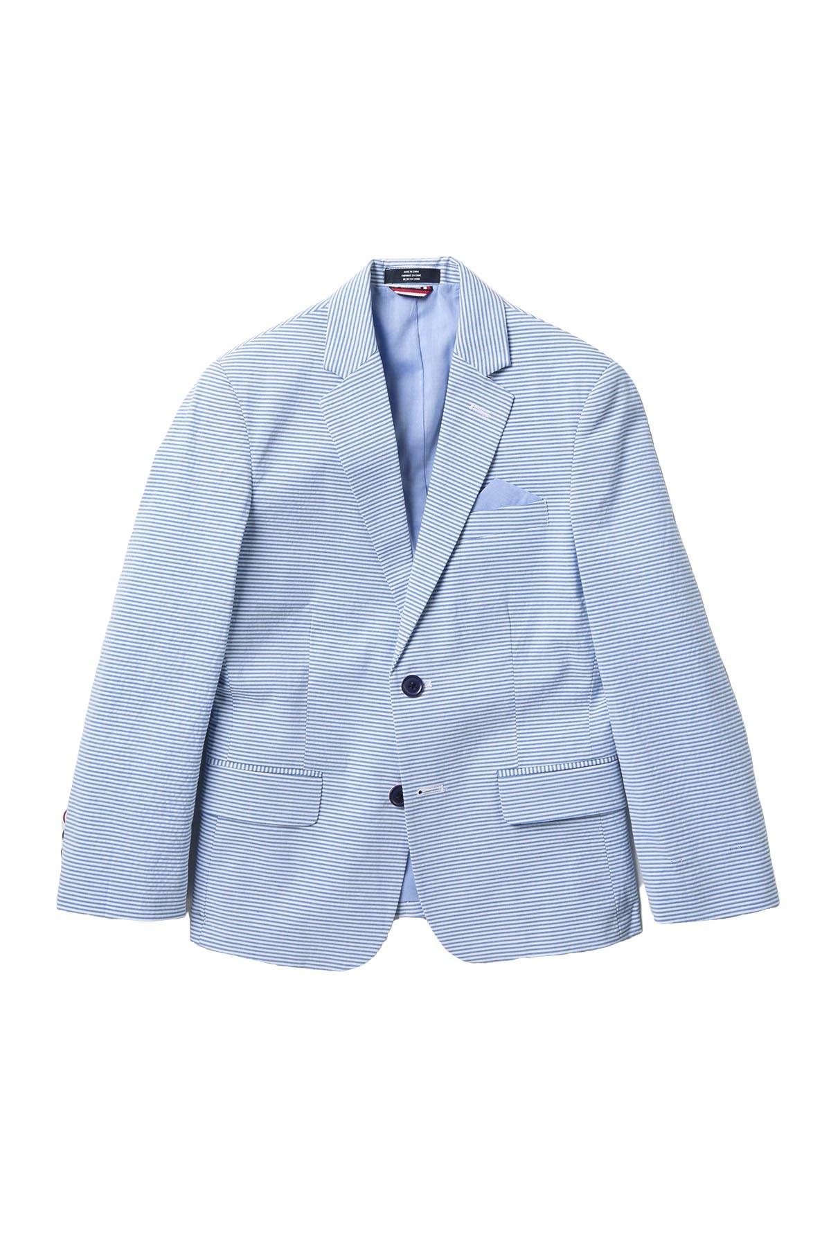 Image of Tommy Hilfiger Horizontal Seersucker Stripe Jacket