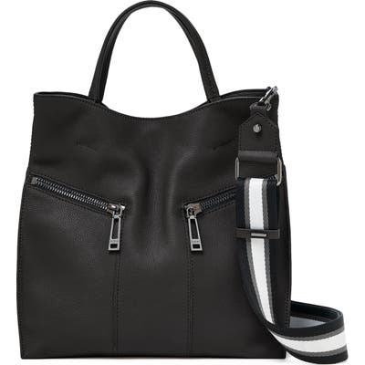 Botkier Trigger Pebbled Leather Satchel - Black