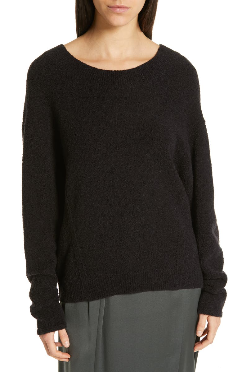 VINCE Dolman Sleeve Sweater, Main, color, 001