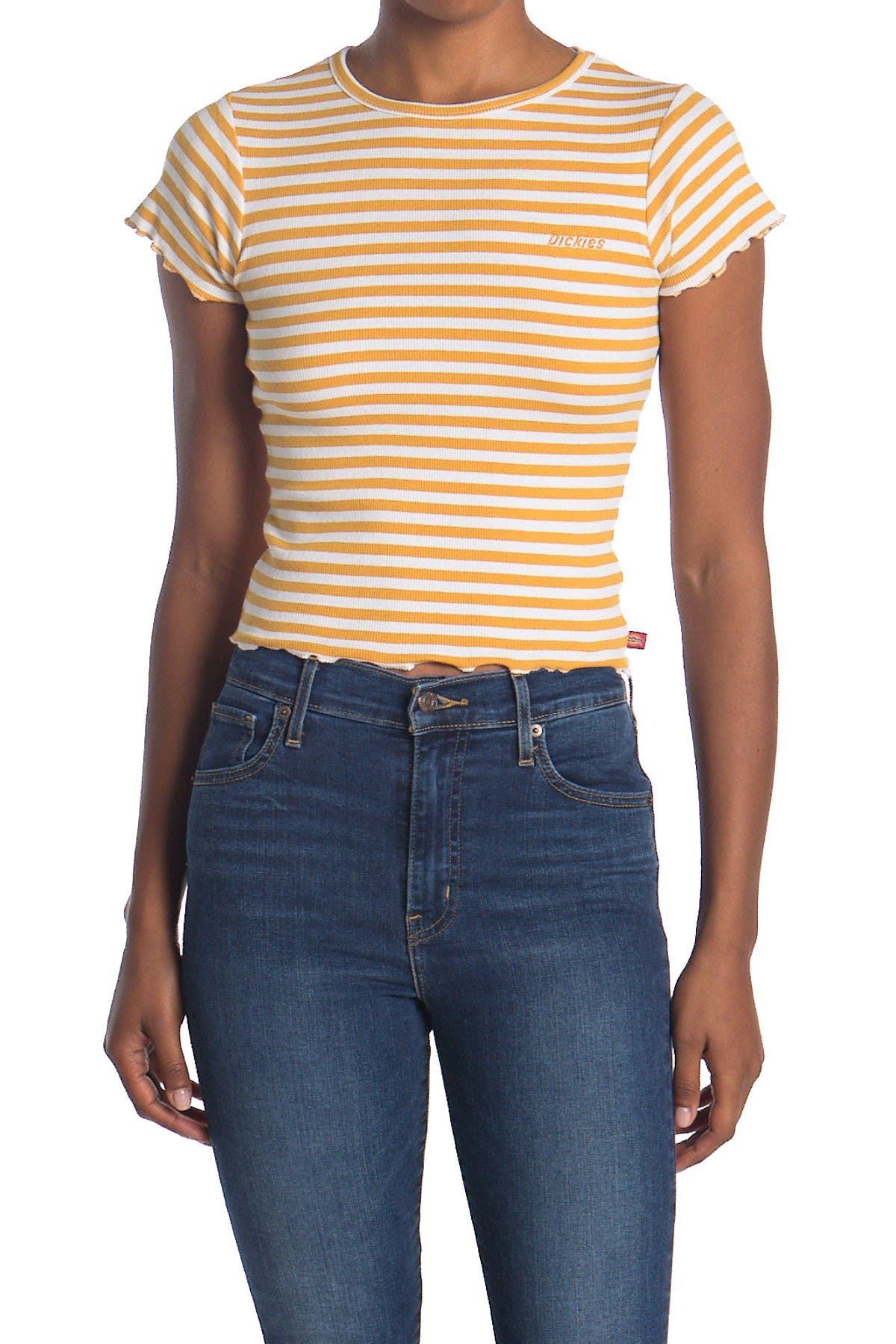 Image of Dickies Short Sleeve Baby Striped Tee