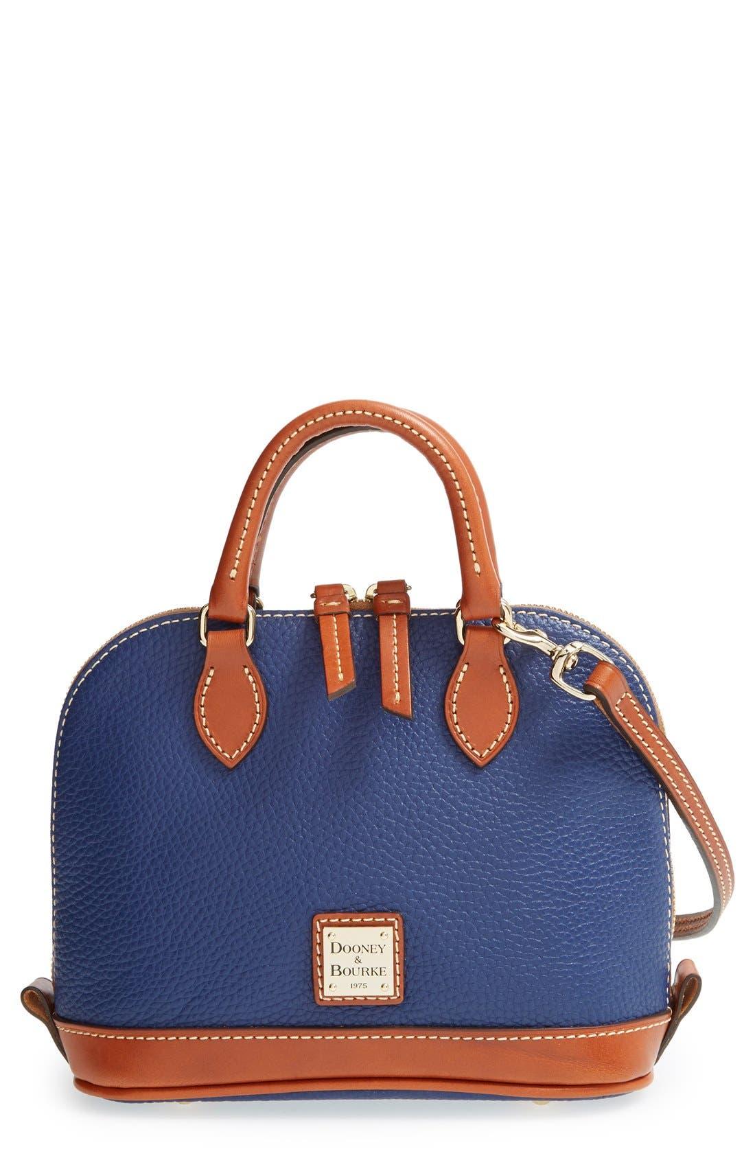 ,                             'Bitsy' Leather Crossbody Bag,                             Main thumbnail 9, color,                             400