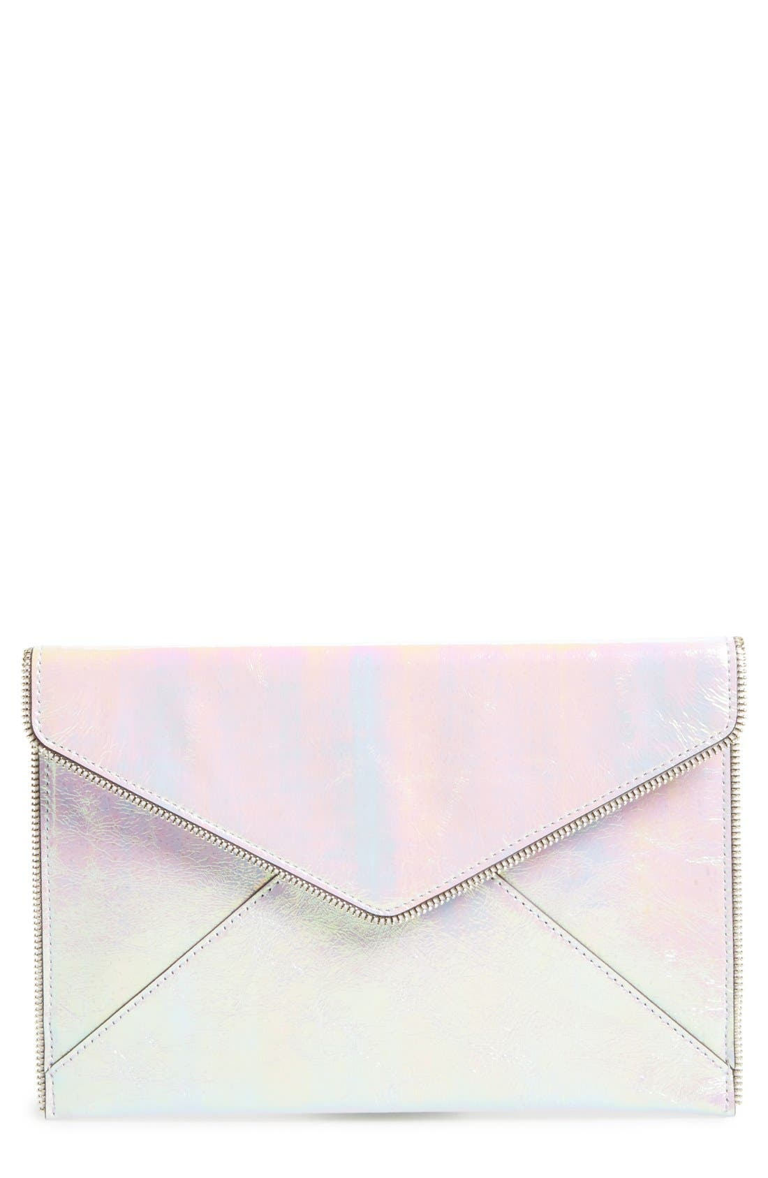 ,                             Leo Envelope Clutch,                             Main thumbnail 116, color,                             100