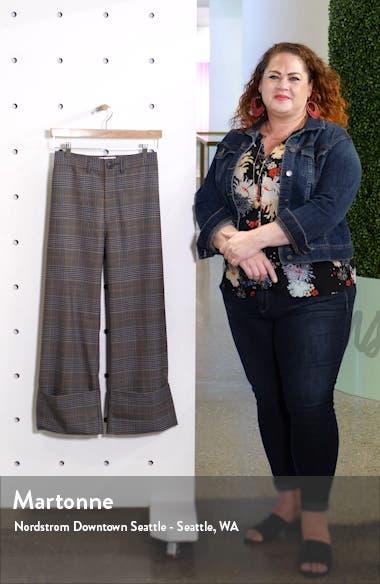 Rowan Plaid Cuff Pants, sales video thumbnail