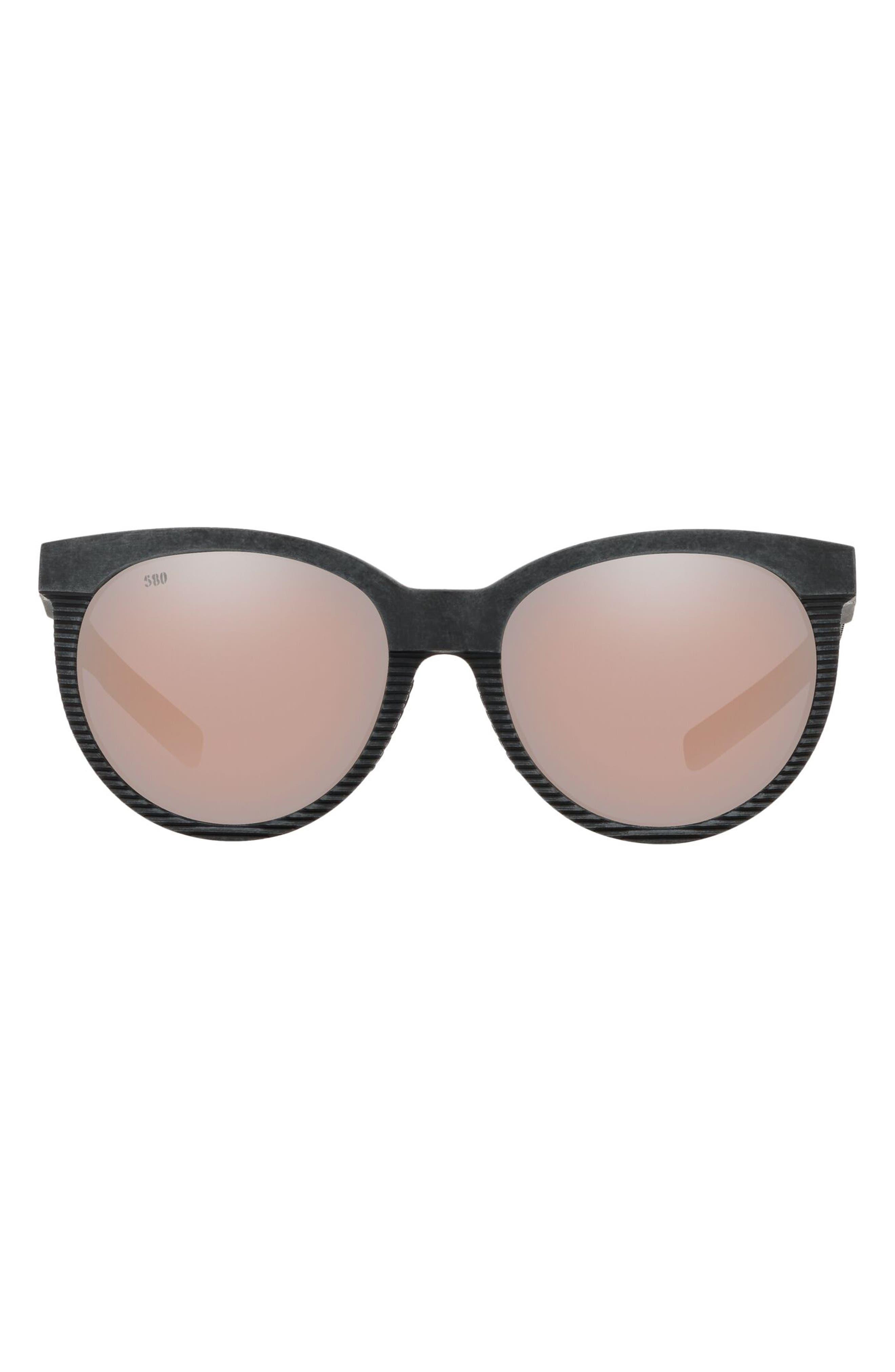 Victoria 56mm Polarized Cat Eye Sunglasses