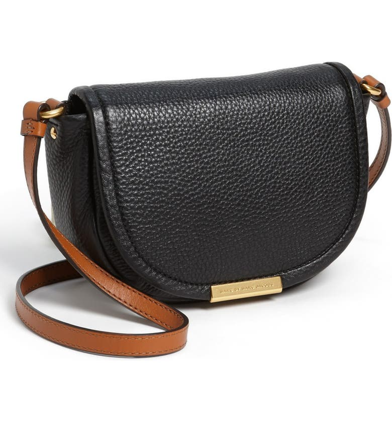 48be195beee MARC BY MARC JACOBS 'Softy Saddle' Leather Crossbody Bag, Main, color,