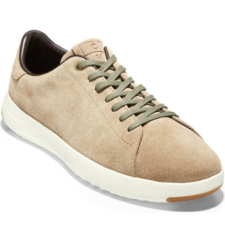 COLE HAAN GrandPro Tennis Sneaker, Main, color, SOFT SAGE SUEDE