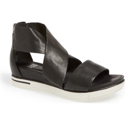 Eileen Fisher Sport Platform Sandal, Black