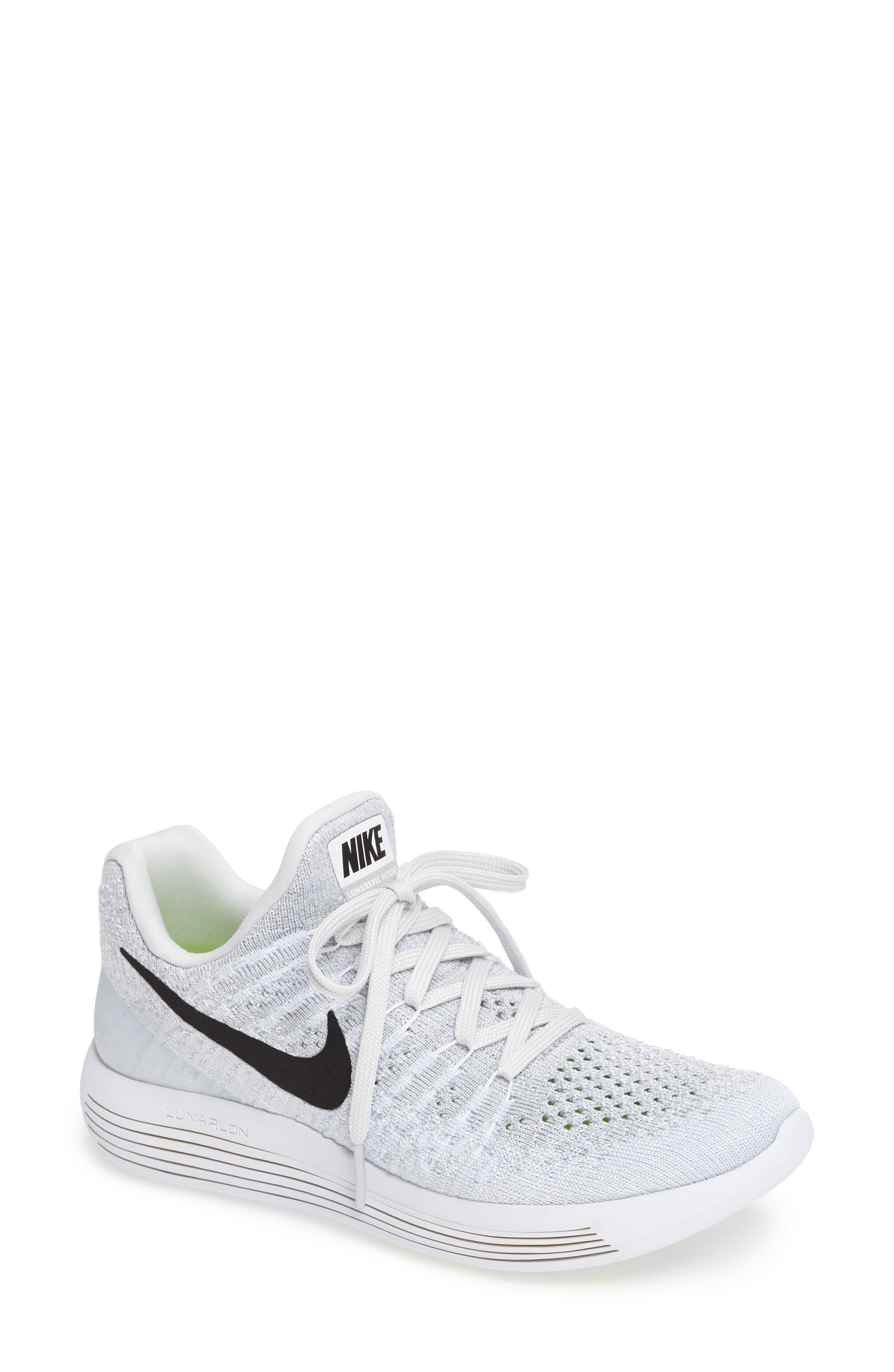 ,                             LunarEpic Low Flyknit 2 Running Shoe,                             Main thumbnail 57, color,                             100