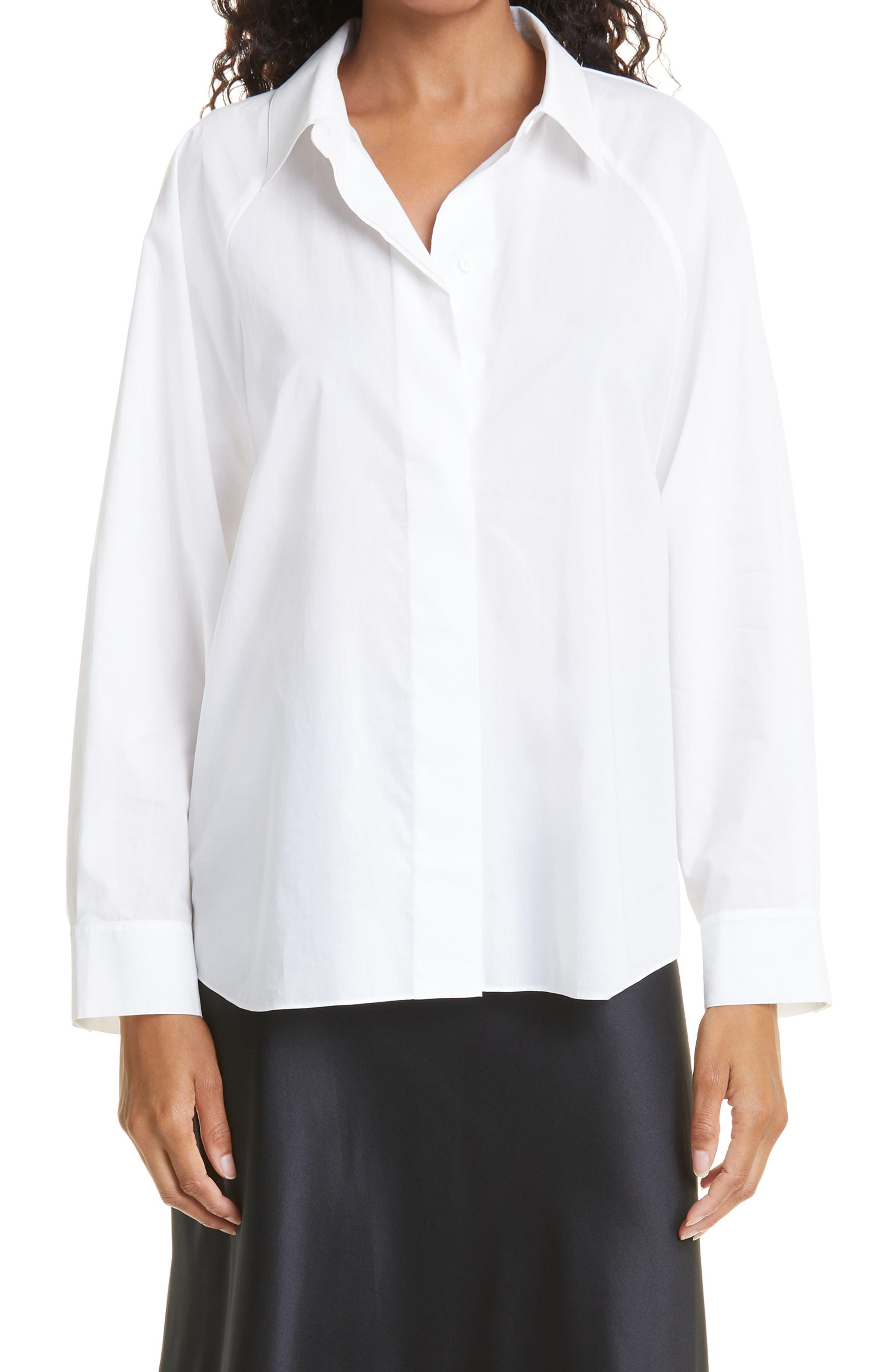 Melissa Long Sleeve Cotton Top
