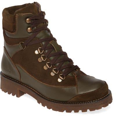 Bos. & Co. Cooper Waterproof Hiking Boot, Green