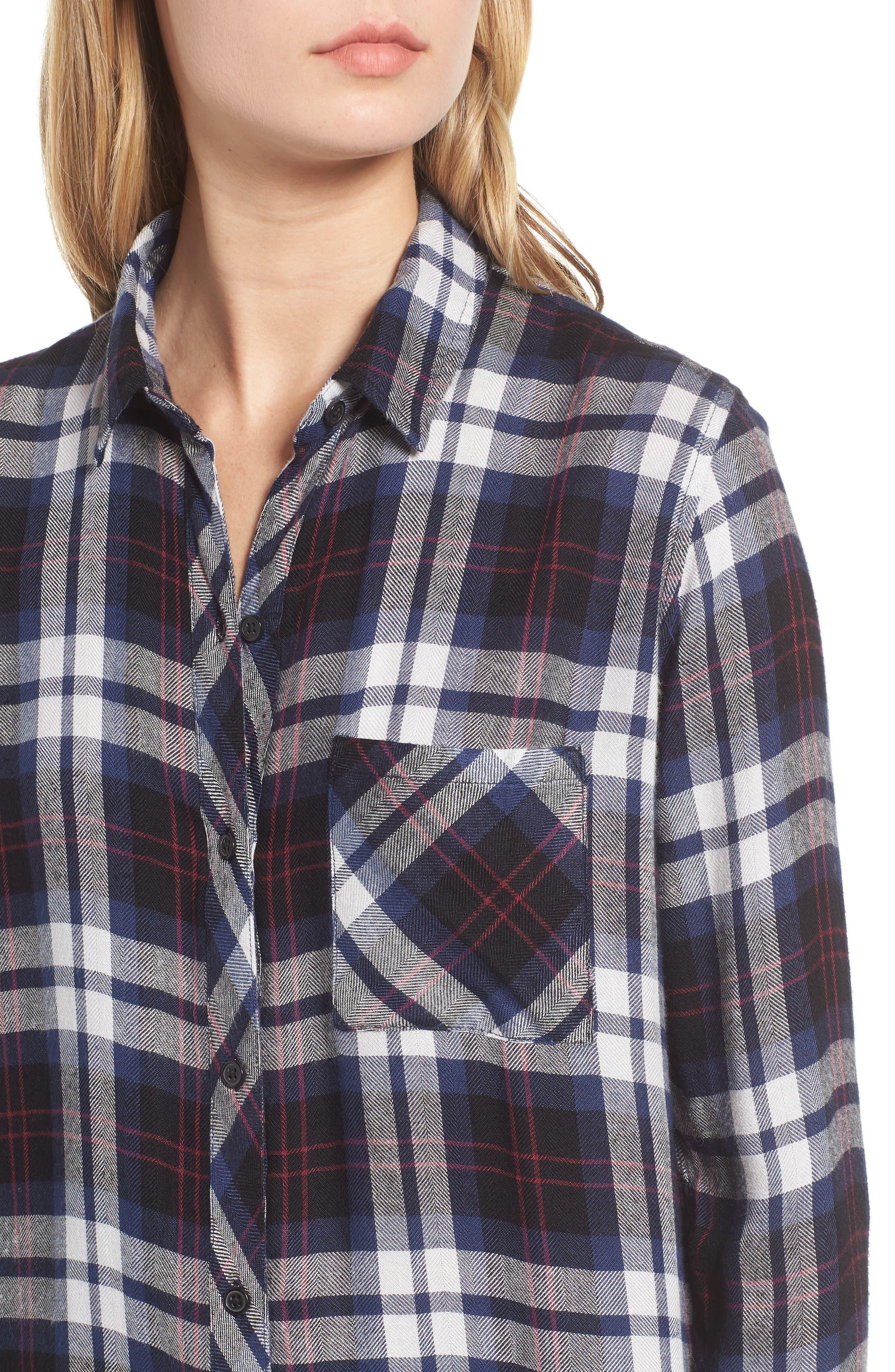 ,                             Hunter Plaid Shirt,                             Alternate thumbnail 323, color,                             409