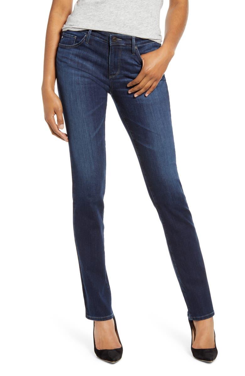 AG Harper Slim Straight Leg Jeans, Main, color, CONCORD