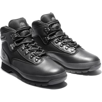 Timberland Euro Hiker Boot- Black