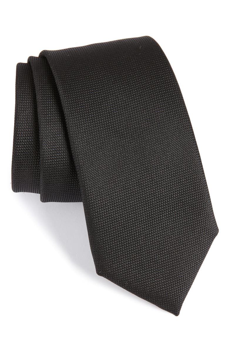 BOSS Silk Tie, Main, color, 001