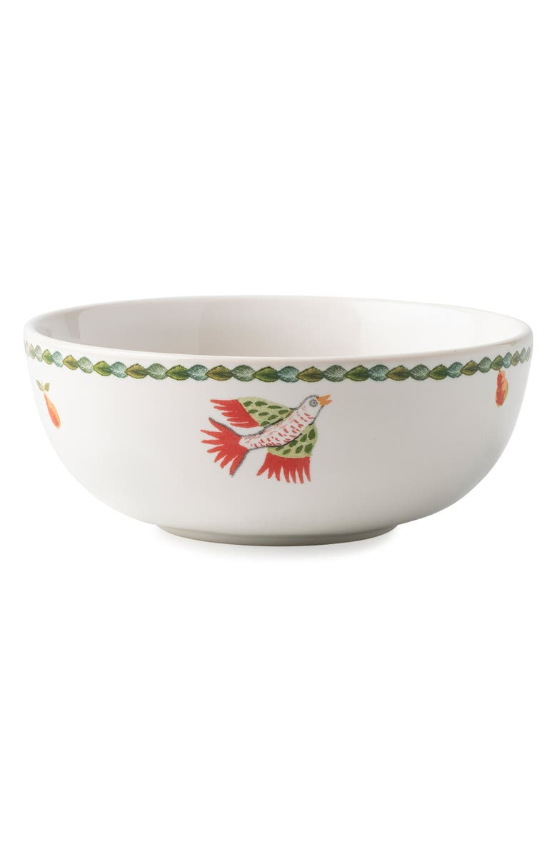 JULISKA Twelve Days of Christmas Bowl, Main, color, WHITE MULTI