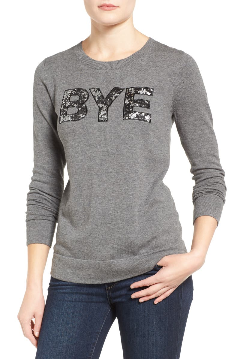 HALOGEN<SUP>®</SUP> Graphic Pullover, Main, color, 030