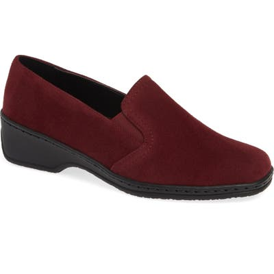 Ara Rabina Wedge Loafer- Burgundy