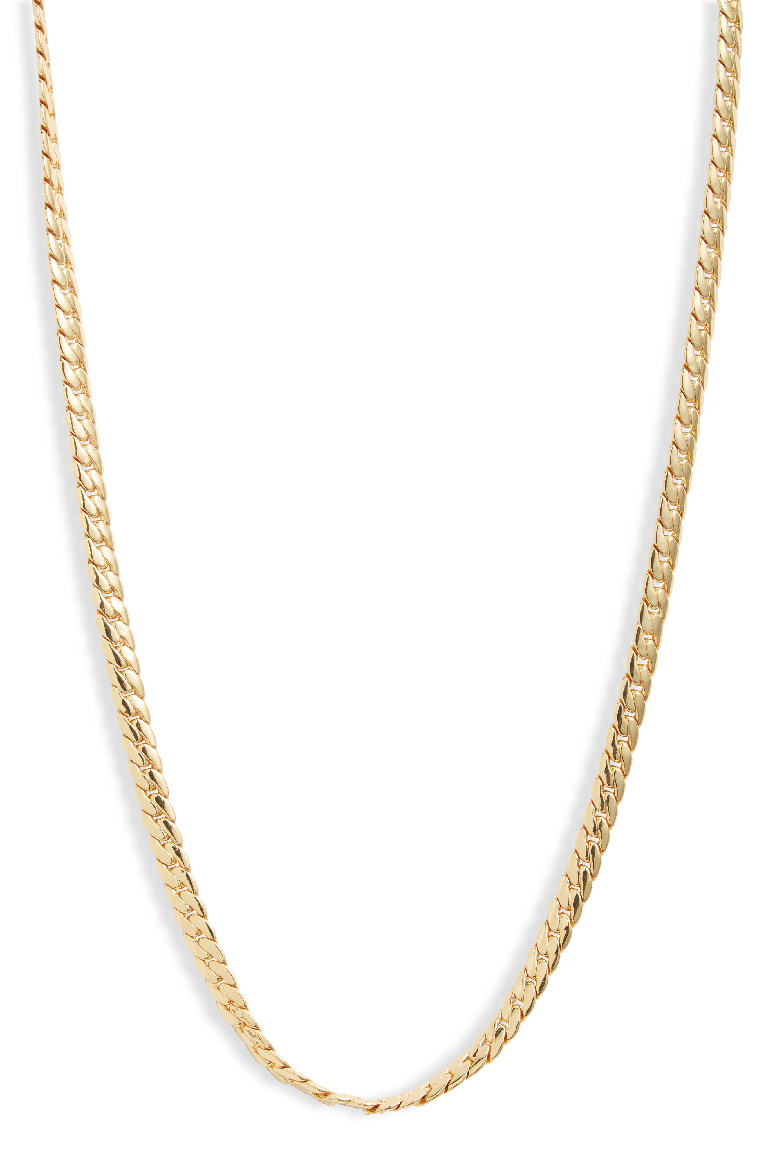 Wallace Cuban Chain Necklace