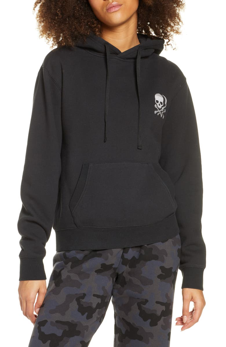 SOUL BY SOULCYCLE Gigi Hoodie, Main, color, BLACK